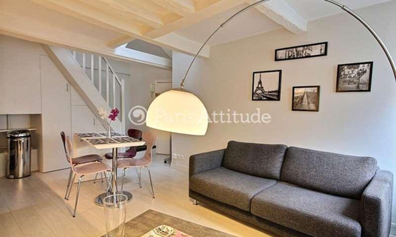 Rent Duplex 1 Bedroom 31m² rue de Clery, 75002 Paris