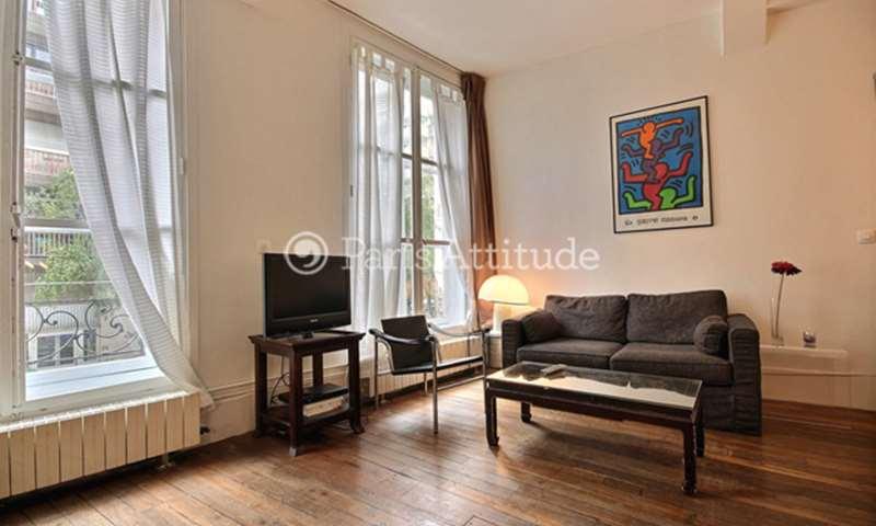 Rent Apartment Alcove Studio 42m² rue de la Fontaine Au Roi, 75011 Paris