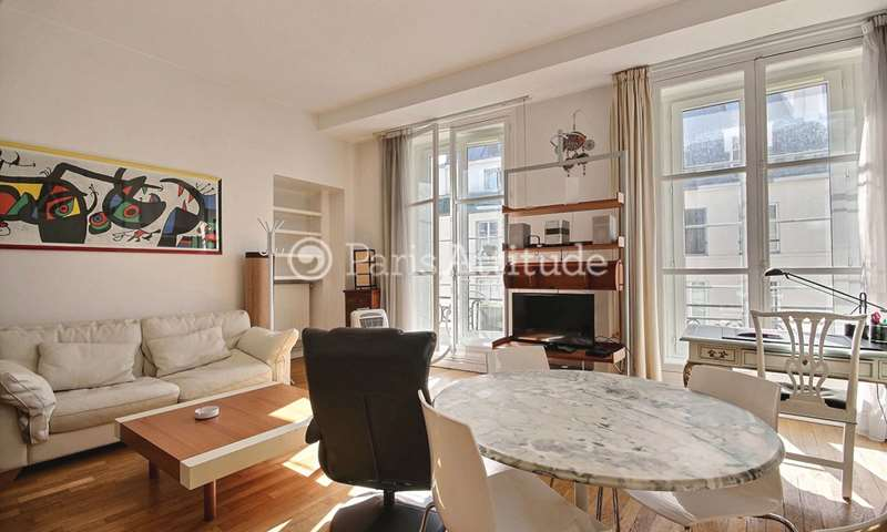 Rent Apartment 2 Bedroom 71m² rue des Petits Carreaux, 75002 Paris