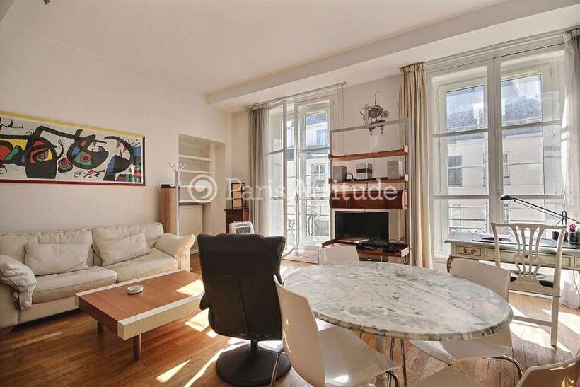 Rent furnished Apartment 2 Bedrooms 71m² rue des Petits Carreaux, 75002 Paris