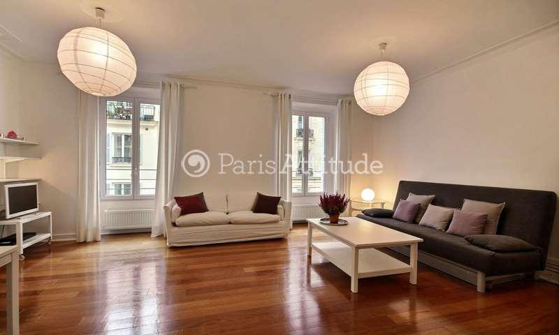 Rent Apartment 1 Bedroom 50m² rue Mouton Duvernet, 14 Paris