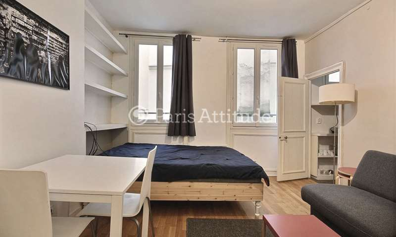 Rent Apartment Studio 20m² rue Jean Baptiste Pigalle, 9 Paris