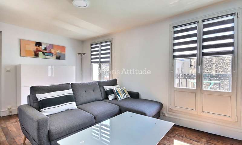 Rent Apartment 1 Bedroom 28m² rue Gambey, 11 Paris