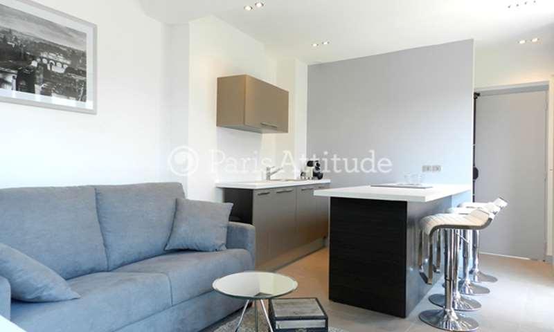Rent Apartment 1 Bedroom 32m² rue Joseph Sansboeuf, 75008 Paris