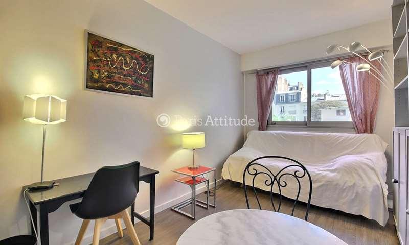 Location Appartement Studio 19m² rue de la Pompe, 16 Paris