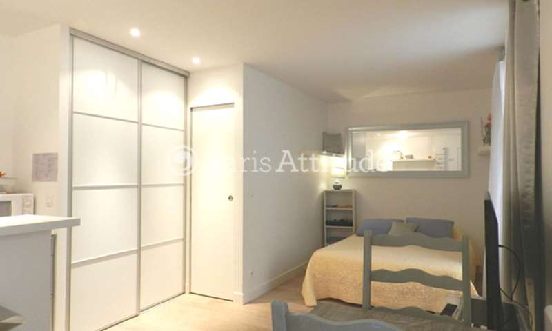 Rent Apartment Studio 24m² rue du Point du Jour, 92100 Boulogne Billancourt