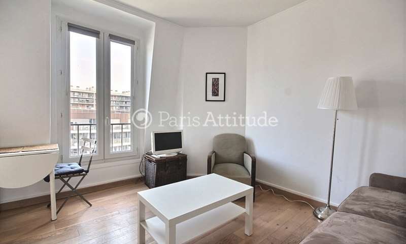 Rent Apartment Studio 21m² rue Boucicaut, 15 Paris