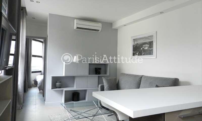 Rent Apartment 1 Bedroom 32m² rue Joseph Sansboeuf, 8 Paris