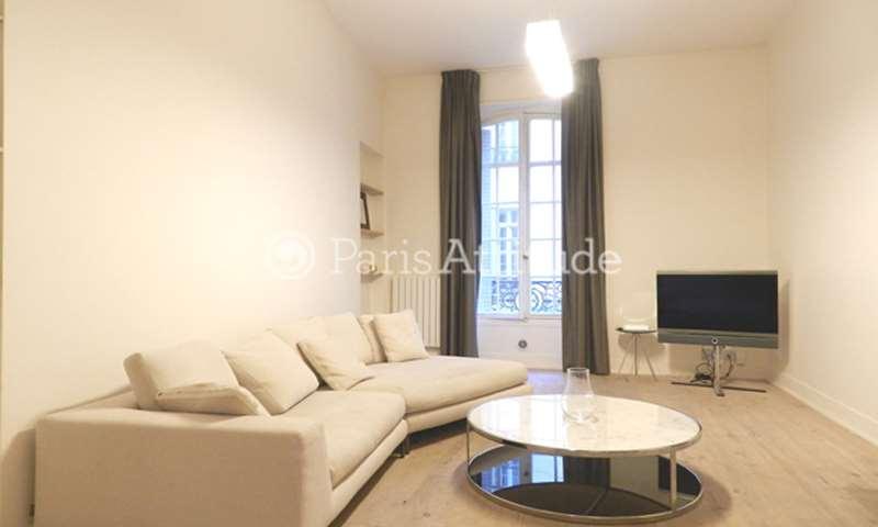 Rent Apartment 1 Bedroom 60m² rue Paul Baudry, 75008 Paris