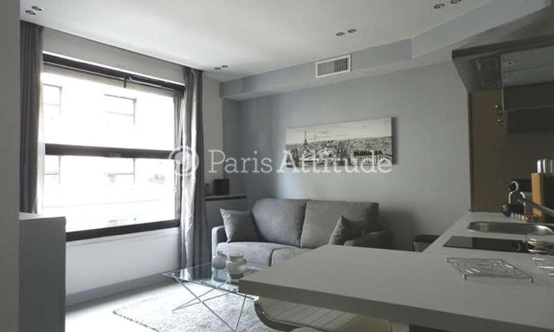Rent Apartment 1 Bedroom 31m² rue Joseph Sansboeuf, 75008 Paris
