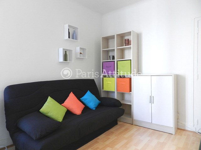 Rent Apartment Studio 18m² rue Olivier de Serres, 75015 Paris
