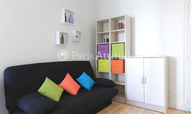 Rent Apartment Studio 18m² rue Olivier de Serres, 15 Paris