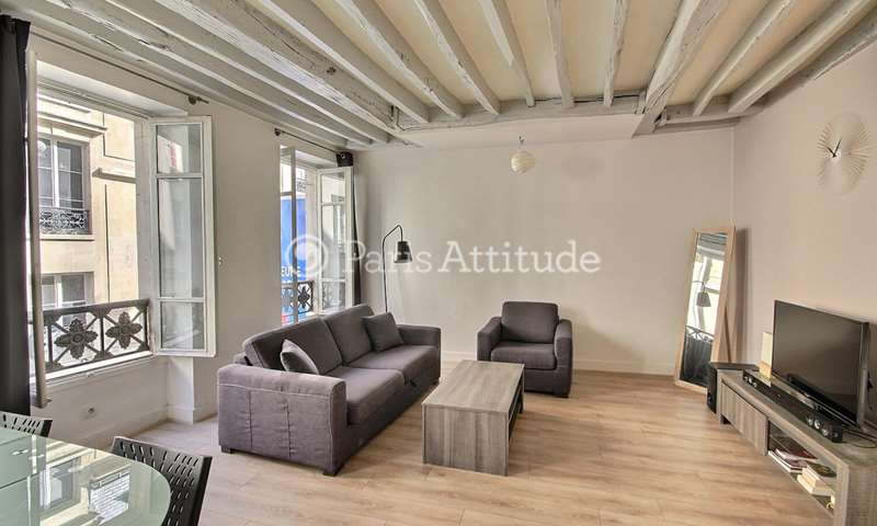 Rent Apartment 1 Bedroom 42m² rue Sainte Apolline, 2 Paris