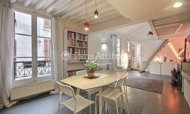 Rent Duplex 2 Bedrooms 64m² rue de Reuilly, 12 Paris