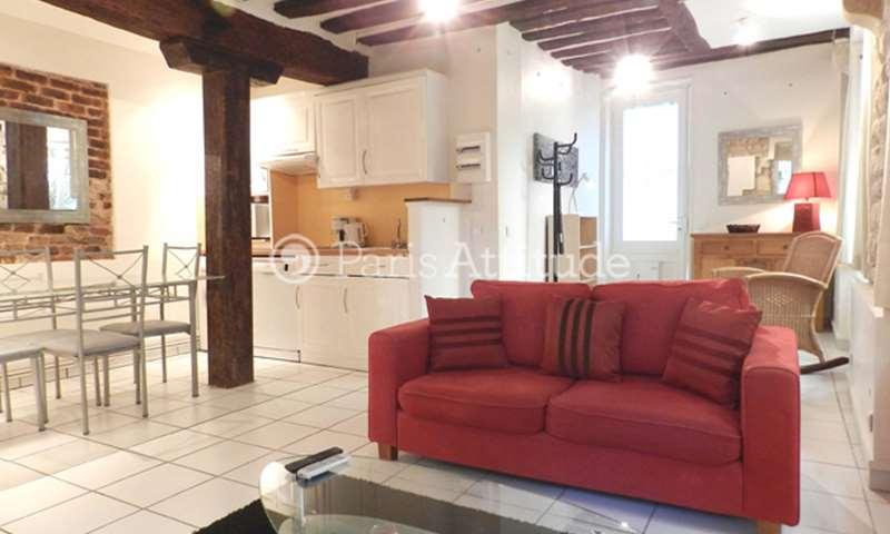 Rent Apartment 1 Bedroom 42m² rue Descartes, 5 Paris