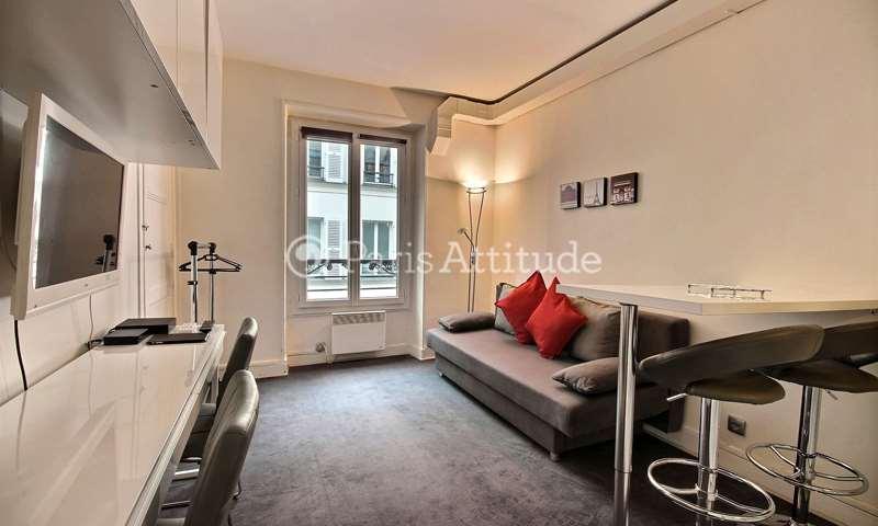 Rent Apartment Studio 20m² rue de Ponthieu, 75008 Paris