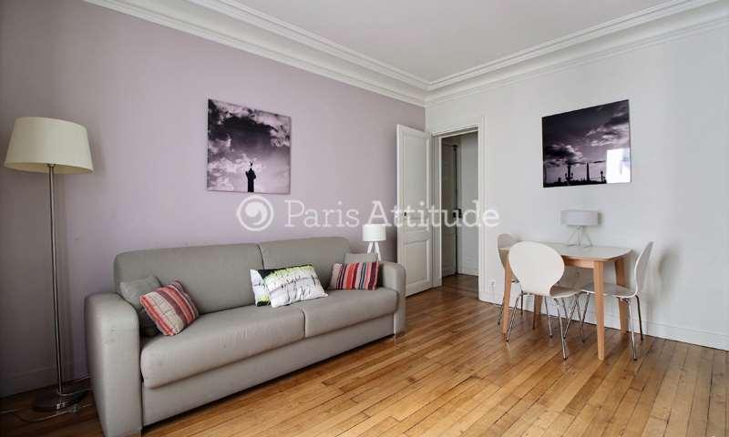 Location Appartement 1 Chambre 38m² Cite Ferembach, 75017 Paris