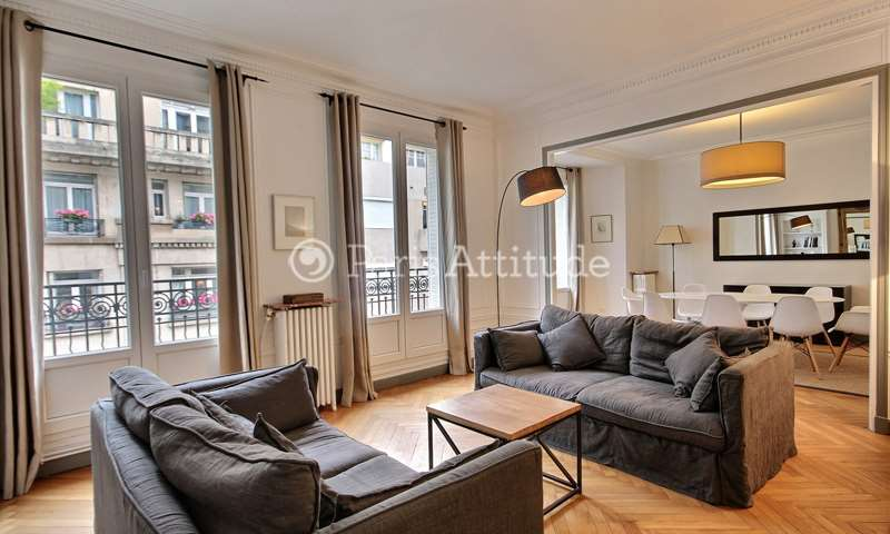 Rent Apartment 2 Bedrooms 110m² avenue de Lamballe, 75016 Paris