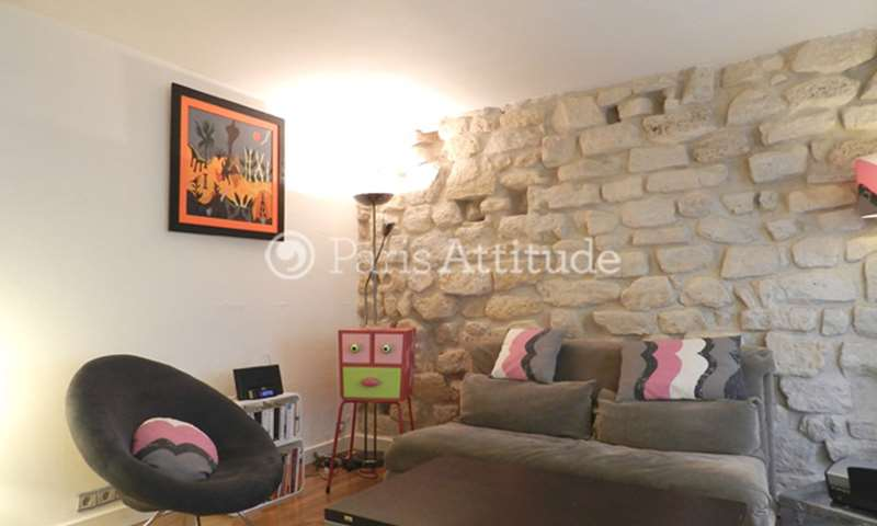 Rent Apartment 1 Bedroom 30m² rue de Picardie, 75003 Paris