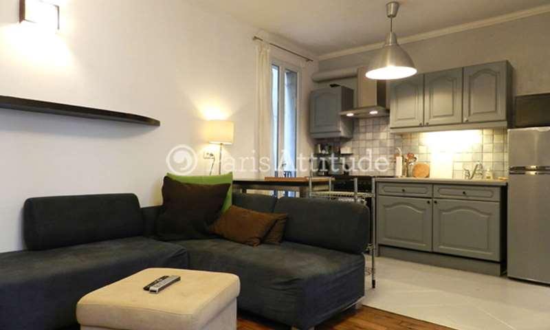 Aluguel Apartamento 1 quarto 43m² rue Lamarck, 18 Paris