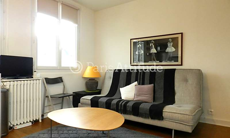 Rent Apartment Studio 23m² rue Raffet, 75016 Paris