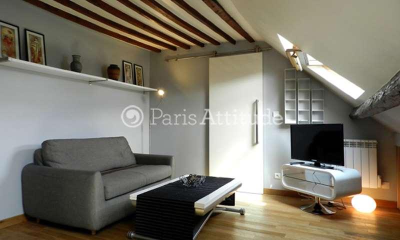 Rent Apartment 1 Bedroom 26m² rue de Montyon, 75009 Paris