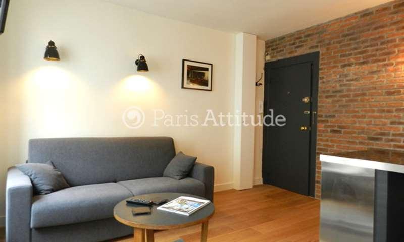 Rent Apartment Studio 20m² rue de l echiquier, 10 Paris