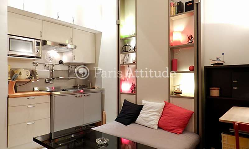 Rent Apartment Studio 16m² rue La Fayette, 75010 Paris