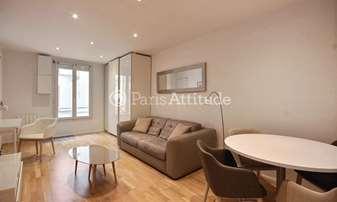 Rent Apartment Studio 27m² rue Keller, 11 Paris