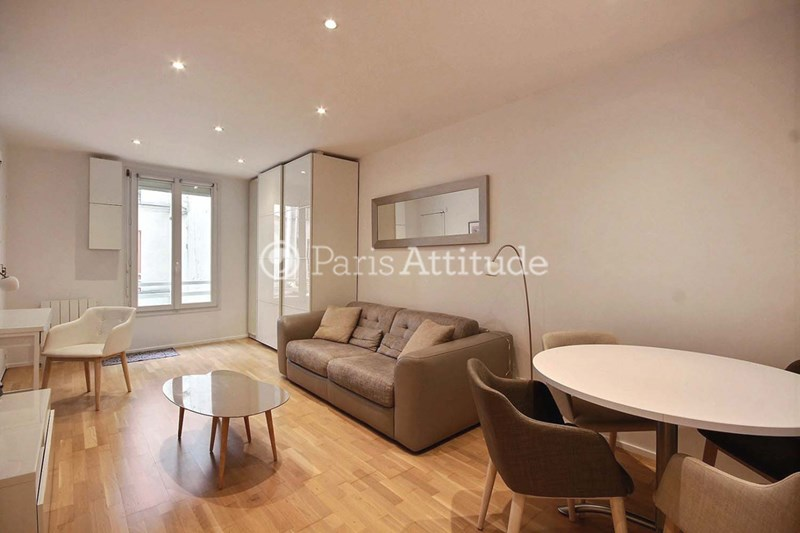 Location Appartement Studio 27m² rue Keller, 75011 Paris
