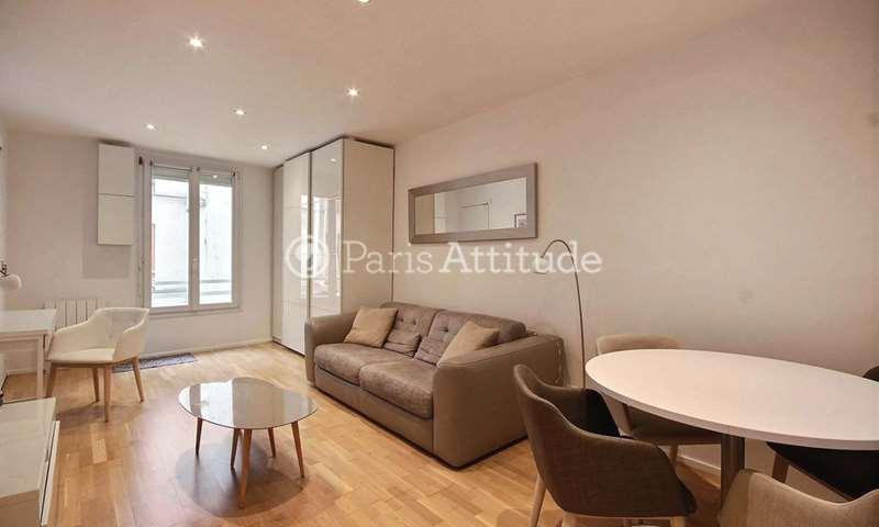 Location Appartement Studio 27m² rue Keller, 11 Paris