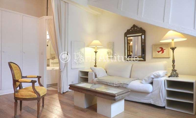 Rent Apartment 1 Bedroom 29m² rue de La Sourdiere, 75001 Paris