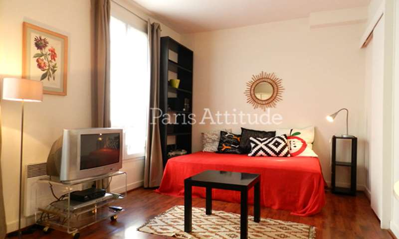 Rent Apartment Studio 26m² rue Augereau, 75007 Paris