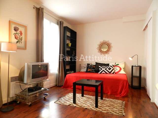 Rent furnished Apartment Studio 26m² rue Augereau, 75007 Paris