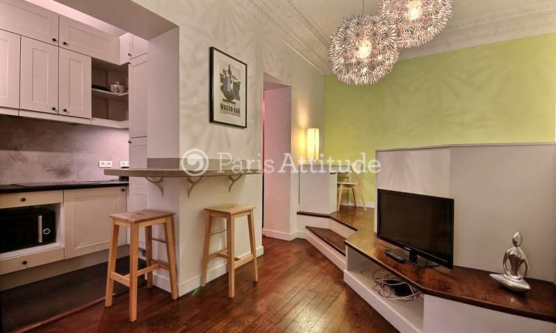 Rent Apartment Studio 29m² rue d Amsterdam, 9 Paris