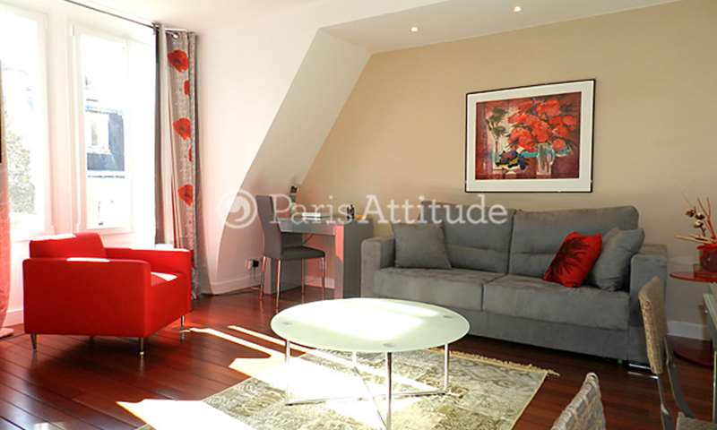 Rent Apartment 1 Bedroom 45m² rue de Boulainvilliers, 75016 Paris