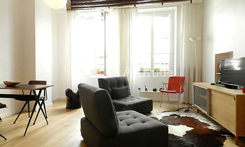 Rent Apartment Alcove Studio 34m² rue des Gravilliers, 75003 Paris