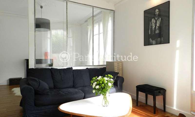 Rent Apartment 1 Bedroom 36m² rue Lamarck, 75018 Paris