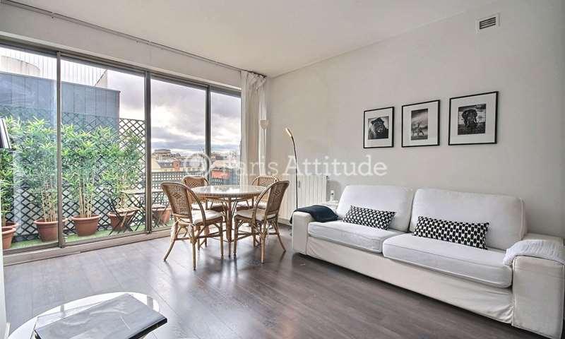 Rent Apartment Alcove Studio 50m² rue de Courcelles, 8 Paris