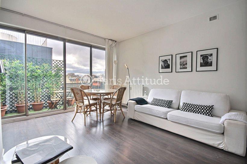 Louer Appartement meublé Alcove Studio 50m² rue de Courcelles, 75008 Paris