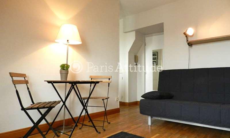 Rent Apartment Studio 26m² rue Boursault, 75017 Paris