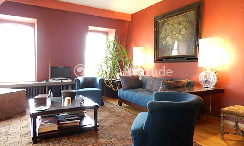 Rent Duplex 3 Bedroom 126m² rue des Grands Degres, 75005 Paris