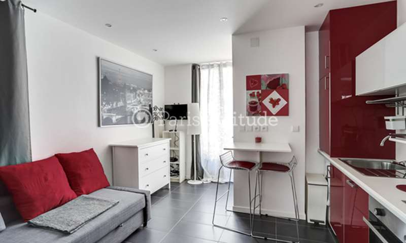 Rent Apartment Studio 15m² rue Constance, 75018 Paris
