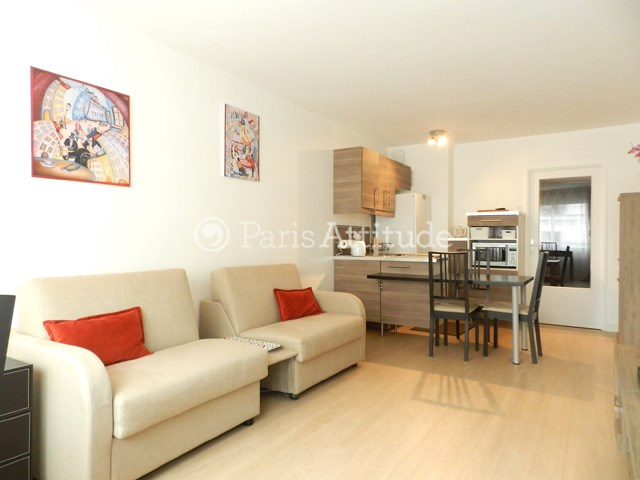 Rent Apartment Studio 30m² rue Antoine Bourdelle, 75015 Paris