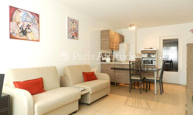 Location Appartement Studio 30m² rue Antoine Bourdelle, 75015 Paris